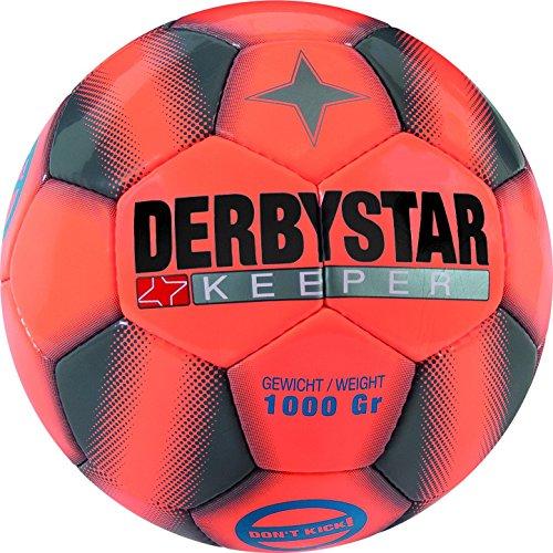 Derbystar Keeper Fußball, Orange/Grau, 5
