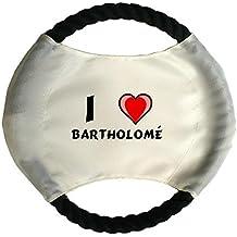 Frisbee personnalisé pour chien avec nom: Bartholomé (Noms/Prénoms)