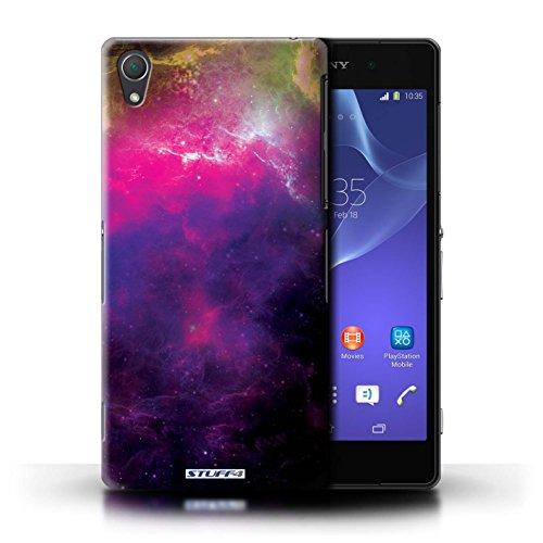 Kobalt® Imprimé Etui / Coque pour Sony Xperia Z2 / Nébuleuse Pourpre conception / Série Cosmos Nébuleuse Pourpre