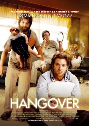 The Hangover - Bradley Cooper - Norwegian - Movie Wall Art Poster Print - 43cm x 61cm / 17 Inches x 24 Inches A2