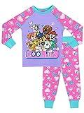 La Patrulla Canina - Pijama para Niñas - Paw Patrol - Ajuste Ceñido - 4 - 5 Años