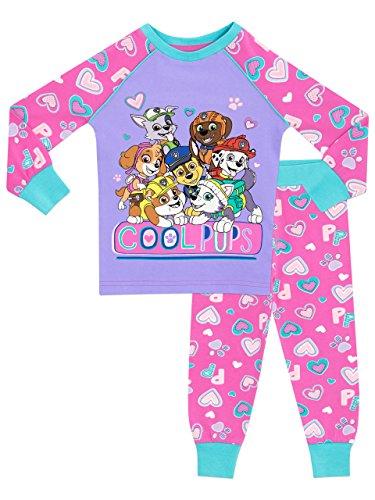 La Patrulla Canina - Pijama para Niñas - Paw Patrol - Ajuste Ceñido - 5 - 6 Años