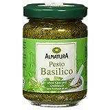 Alnatura Bio Pesto Basilico, 6er Pack (6 x 130 g)