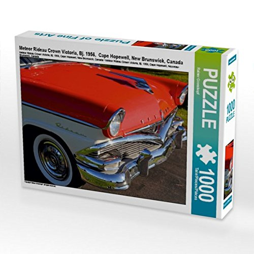 Meteor Rideau Crown Victoria, Bj. 1956,  Cape Hopewell, New Brunswick, Canada 1000 Teile Puzzle quer