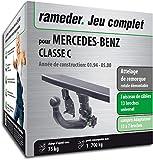 Rameder Attelage rotule démontable pour Mercedes-Benz Classe C + Faisceau 13 Broches...