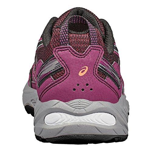 Asics Venture 5 Women's Scarpe Da Trail Corsa - SS17 violet foncé/noir/rose corail
