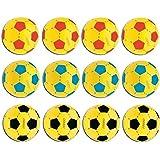 12x Mondo #07/852 Ball Softball Schaumstoffball Kinder Soft Fußballl 20cm farbig