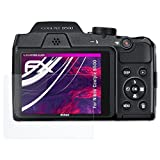 atFoliX Kunststoffglas Folie Nikon Coolpix B500...