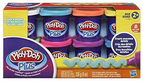 Play-doh 14075plus pasta modellabile, motivo: pirati, confezione da 8 vasetti confezione originale