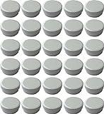 30 Salbendöschen, Creme-döschen, Salbenkruken 6ml Inhalt - MADE IN GERMANY