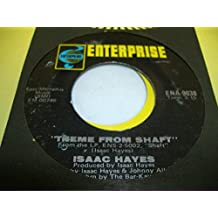 ISSAC HAYES 45 RPM Theme From Shaft / Caf� Regio's