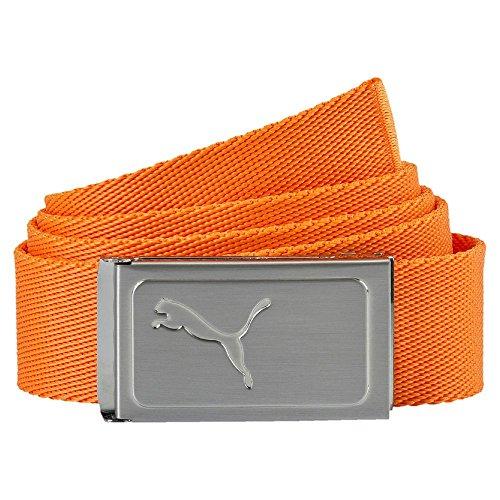 Puma Youth Works Golf Web Gürtel Kinder Golfgürtel orange Gr OSFA -