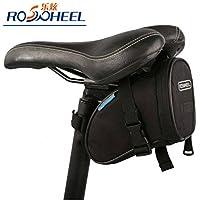 Anizun (TM) 2015ROSWHEEL Ciclismo Mountain Tail bicicleta de carretera bolsa bolsa para sillín de bicicleta Impermeable Asiento Bolsa Negro