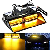 AMBOTHER Frontleuchte 16 LED Auto Warnleuchte Blinker...