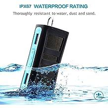 Altavoz Bluetooth 4.0 BLUEXTEL portátil, waterproof IPX67, con adaptadores para transportar en bici o moto, hasta 8 horas de música, con flotabilidad en el agua.