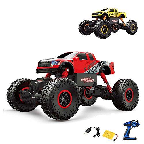 Ferngesteuerter Off-Road Monster-Truck Fahrzeug, Crawler, Maßstab 1:16 mit 4WD Antrieb, Truck, Auto, Car, Komplett-Set ()