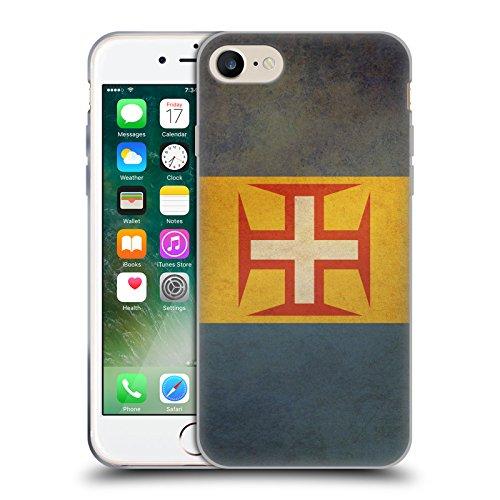 Head Case Designs République Démocratique Du Congo Congolais Drapeaux D'époque 5 Étui Coque en Gel molle pour Apple iPhone 6 / 6s Madère Madeiran