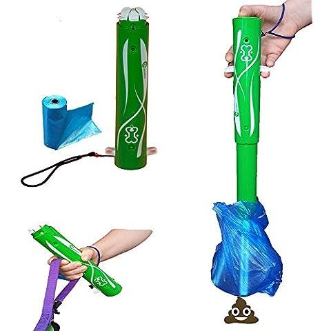 KanXeto Gadget, es un innovador cómodo y eficaz accesorio para recoger el excremento de tu perro, de una forma DIGNA, SENCILLA y EFICAZ. Su tamaño es como el de un paraguas automático y pesa menos que un Smartphone
