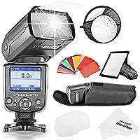 Neewer® **, TTL, per telecamere Flash Slave per fotocamere Canon EOS 700D/650D/600D, T5i T4i, T3i, T3 1100D/550D T2i, T1i SL1/500D 100D, 400D/XTi, 450D/XSi, Digital Rebel 300D/20D/30D 5D 60D Mark III, 3 II 2, E altre fotocamere digitali Canon