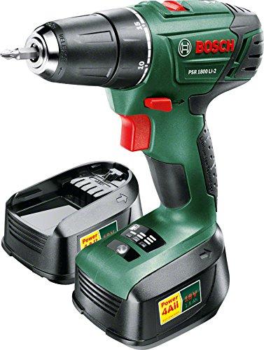 Preisvergleich Produktbild Bosch Akkubohrer PSR 1800 LI-2 2 x1,5 ah, 0.603.9A3.101