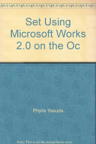 Using Microsoft Works 2.0 for DOS: With 5.25