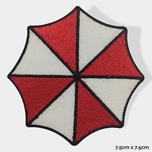 Real Empire WLD153 - Bestickter Patch zum Aufnähen/Aufbügeln, Motiv: Umbrella Corporation (Resident Evil)
