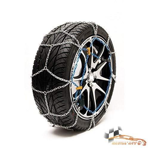 HABILL-AUTO Chaines Neige 9mm Premium Tension s Automatique 185/65 R16-185 65 16-185 65 R16