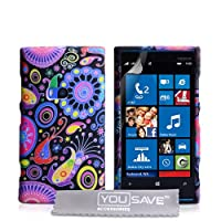 Yousave Accessories Jellyfish Silicone Gel Cover Case for Nokia Lumia 920