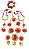 BLENT Traditional Pink Gota Jewellery Se...
