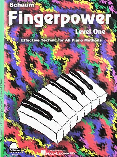 Fingerpower: Level 1 (Schaum Publications Fingerpower)