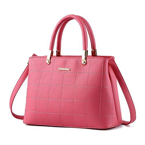 atmosfera-pu-cuoio-croce-corpo-donne-piccola-piazza-pacchetto-spalla-crossbody-top-handle-borsa-pink