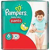 Taille 6 De Portage De Bébé-Secs Pantalons De Pampers 19 Couches