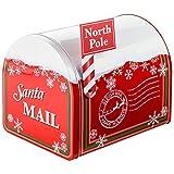 Handelshaus Huber-Koelle Präsentdose Weihnachtspost, gebfüllt mit Knabberartikeln, 580 g