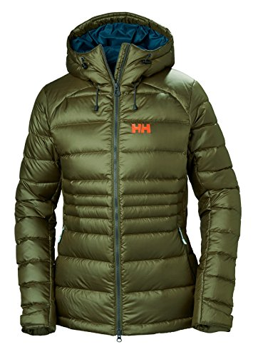 Helly Hansen W Vanir Icefall - Chaqueta de Plumón para Mujer, Mujer, Color Ivy Green, Tamaño Small