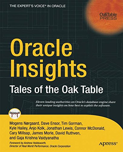 Oracle Insights: Tales of the Oak Table por Cary Millsap