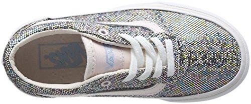 Vans My Milton, Sneakers Basses Fille Multicolore (Glitter Multi)