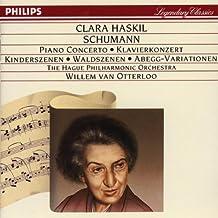 SCHUMANN : Concerto pour piano, Scènes d'enfants, Scènes de la forêt, Variations Abegg