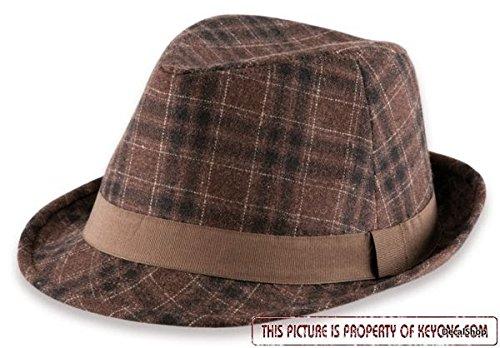 dakota-marrone-tg-l-xl-58-61cm-cappello-feltro-di-lana-trilby-fedora-panno-berretto-inverno