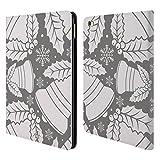 Head Case Designs Glocken Silber Urlaub Kollektion Brieftasche Handyhülle aus Leder für iPad Air 2 (2014)