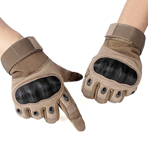 unigear-full-finger-gloves-for-motorcycle-hiking-cycling-outdoor-sports-brown-l