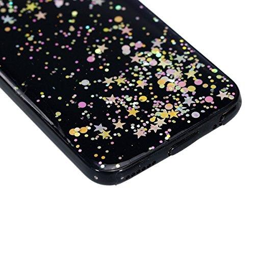 Paillette Coque pour iPhone 6S,iPhone 6 Bling Liquide Coque,iPhone 6 Bling Glitter Coque Etui Dual Layer Plastic Coque Liquide Cases Covers,EMAXELERS iPhone 6S Case Bling Glitter Flowing Etui,iPhone 6 A TPU 7