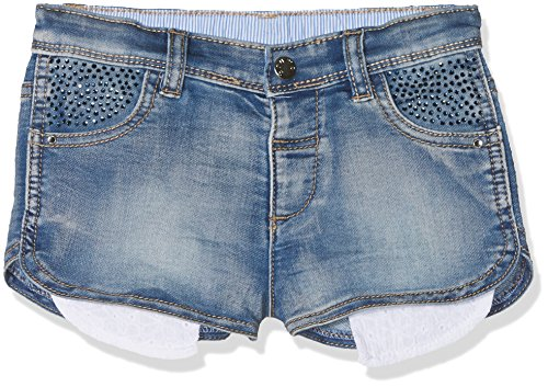 Brums 181bebl004 pantaloncini, bimba 0-24, blu (denim), taglia produttore:18m