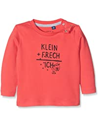 TOM TAILOR Kids Baby-Jungen Langarmshirt Interlock Slogan T-Shirt