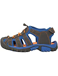 Mountain Warehouse Bay Junior Shandals - Neoprene Shoes Sandals, Durable Kids Flip Flops, Midsole Childrens Summer Shoes, Adjustable - for The Poolside, Beach, Travelling