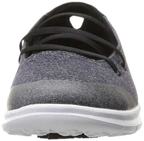 Skechers Prestazioni andare passo Pose Walking Shoe Black/White