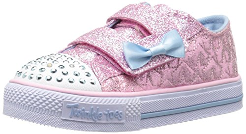 skechers-girls-twinkle-toes-shuffles-starlight-style-low-top-sneakers-pink-pink-light-blue-4-uk-chil