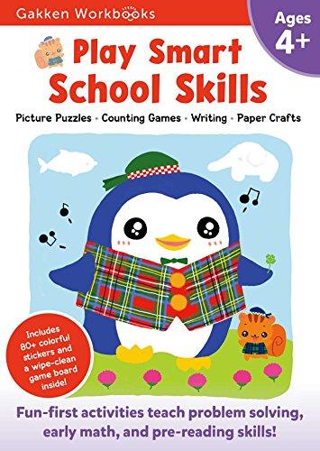 Play Smart School Skills 4+: For Ages 4+ (Gakken Workbooks) por Gakken