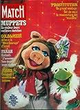 Paris Match - n°1543 - 22/12/1978 - Muppets : leurs meilleurs sketches / Miss Piggy et Kermit