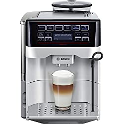 Bosch Cafetera súper automática TES60321RW, 1500 W, 1.7 litros, Plástico, Gris y Negro