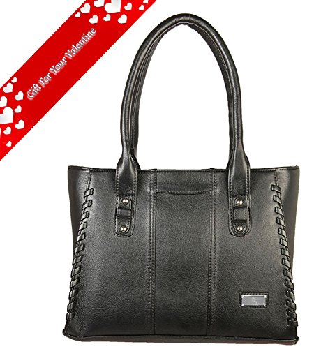 Louise Belgium Designer Hand bag for Women- Black
